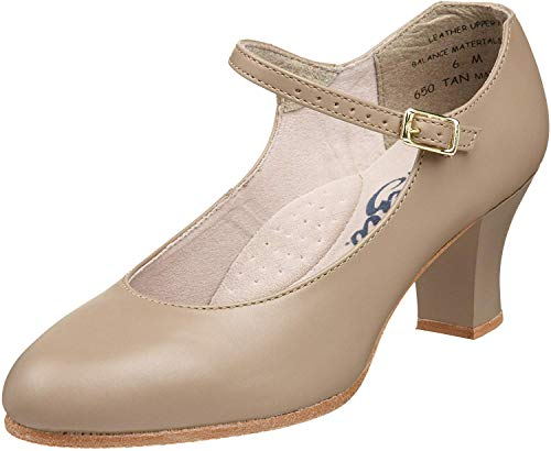Top 10 best selling list for capezio adult student footlight 2 heel character shoes