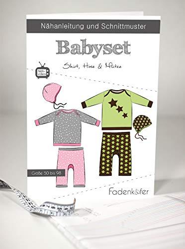 Schnittmuster und Nähanleitung - Kinder Shirt Hose Mütze - Babyset