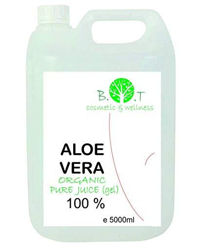 100 prozent pur aloe vera Aloe Vera Gel Bio 100% Flüssiger nativer Saft EINFÜHRUNGSANGEBOT 5000ml