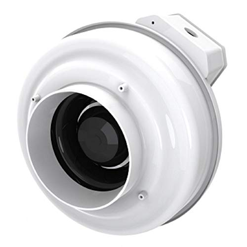Fantech RN2 Radon Fan | 4 Inch | Quiet and Efficient Radon Mitigation | 220 Cfm