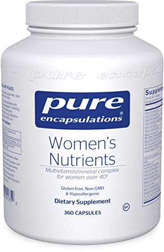Pure Encapsulations - Women's Nutrients - Hypoallergenic Multivitamin/Mineral Complex for Women Over 40-360 Capsules