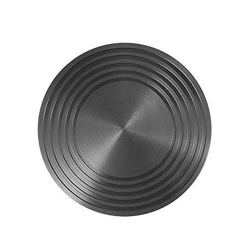 OhhGo Difusor de estufa de metal difusor de calor placa compatible con estufa de gas estufa eléctrica para woks, hervidores de sopa, ollas Mike
