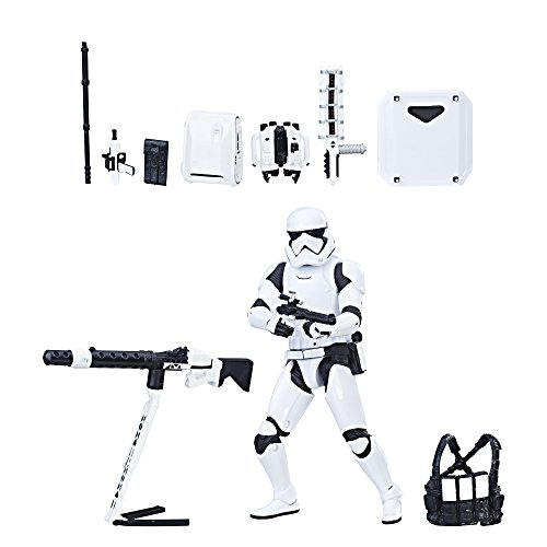 Star Wars Figur The Black Series - First Order Stormtrooper with Gear - 2017
