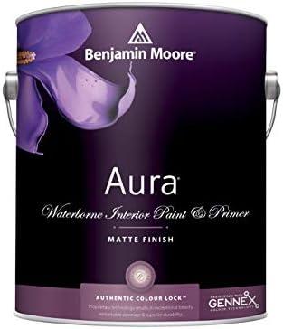 1G Benjamin Moore WHITES Aura Waterborne Interior Paint Matte White Dove product image