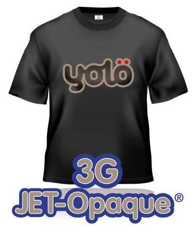 yolö creative 25 x a3 fogli di trasferimento 3g jet-opaque® a getto d'inchiostro termico carta t-shirt/trasferimenti