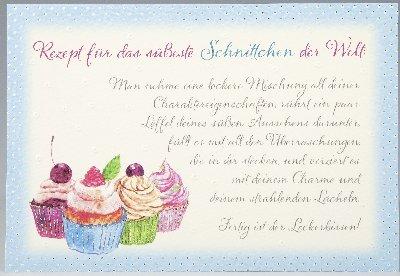 Vivo Arte Uitklapkaart Verjaardag 18,5 x 12,5 cm Recept voor het schattigste snoepje ter wereld