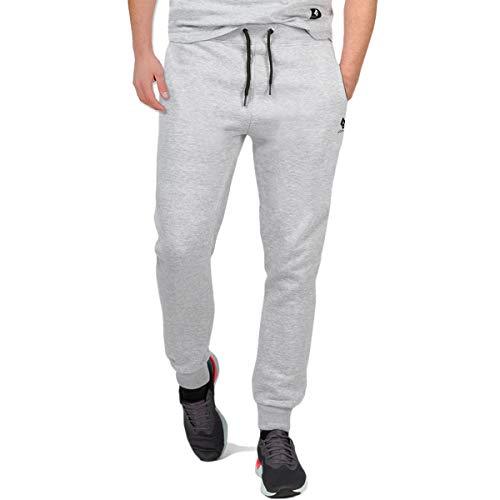 urban ace   Jogginghose für Herren im Athleisure Trend   Angesagte Sweatpants für Fitness u. Freizeit   in schwarz u. grau  S -M-L (L, Grau)