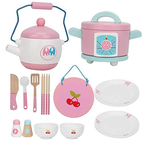 Simulation Spielzeug, 14 STÜCKE Küche Kochen Pädagogisches Rollenspiel Spielzeug für Kinder Kinder