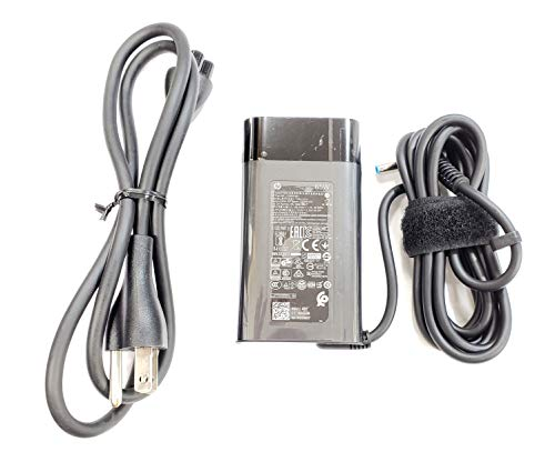 Slim Design For HP 65W Blue Tip Ac Adapter for Envy 13-AD105LA, 13-AH0034CL, Compatible with P/N: TPN-LA14, TPN-AA04, L23960-001, L24008-001.