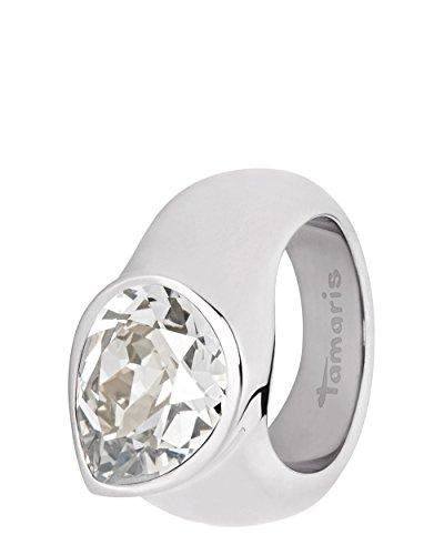 Tamaris Jewelry Amy Ring Edelstahl mit Swarovski Kristall RG 52 A0021001-2