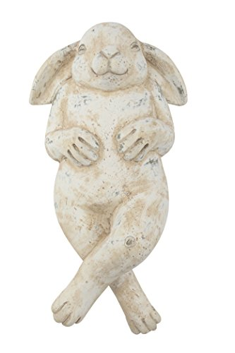Deko-Figur Hase (B) liegend 28,5cm