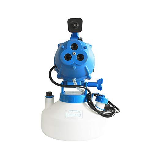 LWJDM Atomizador De Capacidad Ultra Baja De 4L 7-30 Micras Pulverizador De Volumen De Niebla Fría Extrafino Portátil De 3 Orificios Adecuado para Grandes Áreas Públicas Y Exteriores