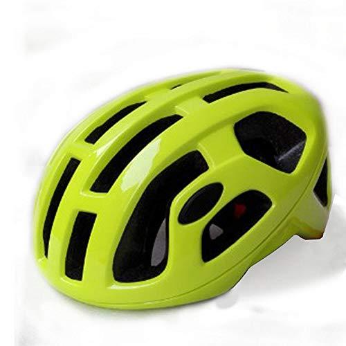 No-branded Motorrad-Zubehör Roller Skating Geschwindigkeit Männer und Frauen Fahrradhelm Einteilige Rennrad Breath Helm Fahrrad Reithelm LKYHYQ (Color : Gelb)
