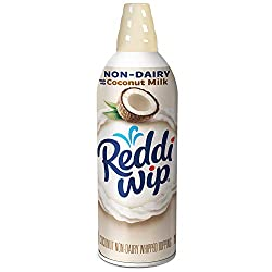 Reddi-wip Non-Dairy Made with Coconut Milk Vegan Whipped Topping, Keto Friendly, 6 oz.