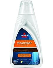 Bissell 1788L Wood Floor środek czyszczący do Spinwave/Crosswave / Crosswave Pet Pro i innych urządzeń do czyszczenia twardych podłóg, nadaje się również do podłóg drewnianych, 1 x 1 l
