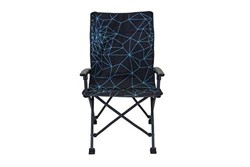 Portal Girona Active XXL campingstoel, gevoerde tuinstoel, klapstoel met stabiele armleuningen