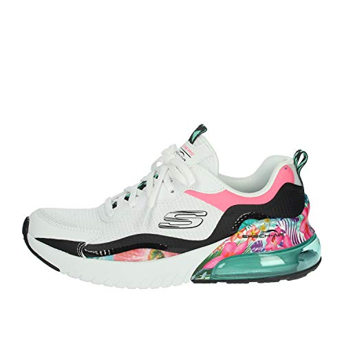 Skechers 149024-WMLT_38, Sneakers Donna, Bianco, EU