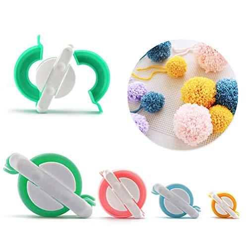 Ouskau - Plantilla para hacer pompones para manualidades, manualidades, para hacer pompones para niños y adultos
