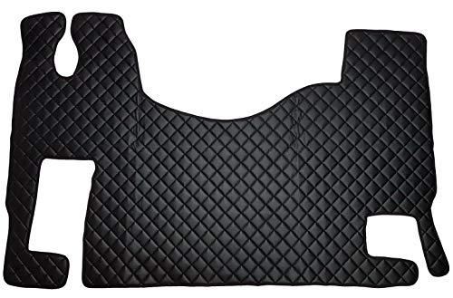 Unbekannt Juego de alfombrillas para ACTROS MP2 MP3, accesorios interiores automáticos para camiones, decoración, alfombra negra de piel sintética