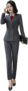 Foucome レディース セット スーツ レディース スーツ ol オフィス スーツ 事務服 パンツスーツ 2点セット