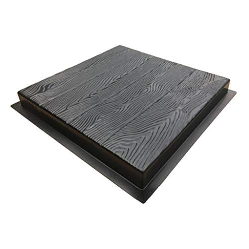 Xiuinserty imitación madera grano DIY paso piedra molde camino fabricante pavimentación cemento ladrillo molde