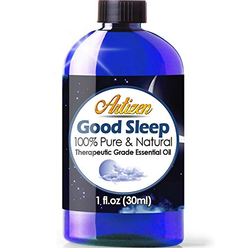 Artizen Good Sleep Blend Essential Oil (100% Pure & Natural - UNDILUTED) - Huge 1oz Bottle - Perfect for Relaxation, Sleeping -Blended w/Clary Sage, Copaiba, Lavender