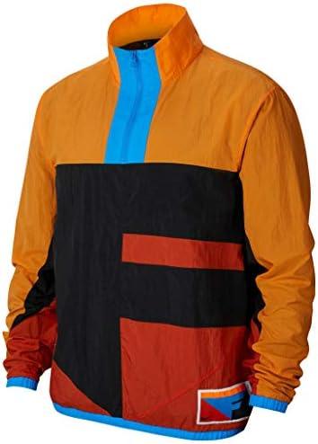 Nike Flight Jacket Black Alpha Orange Rust Factor Black 2XL product image