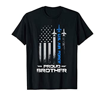 Proud Brother U.S Air Force Stars Air Force Family Gift T-Shirt