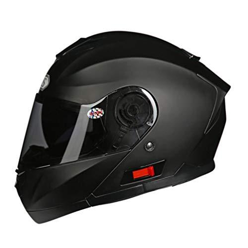 Full Face Casco de la Motocicleta Unisex Doble Lente Flip Up Cascos de la Moto Anti Fogging Motocrss Gorras de Seguridad para Las Carreras al Aire Libre