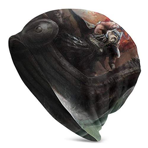 AEMAPE Skull Cap Fulmination Wrath im Wikinger-Dorn-Schiff, das in feurigen Wellen...