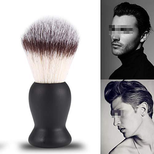 Bartbürste, Rasierbürste für Männer Bart Schnurrbart Trimmbürste Nylon Haar Friseur Salon Rasiertes Werkzeug Bartpflege Pflegetool für Home Travel Barber Shop