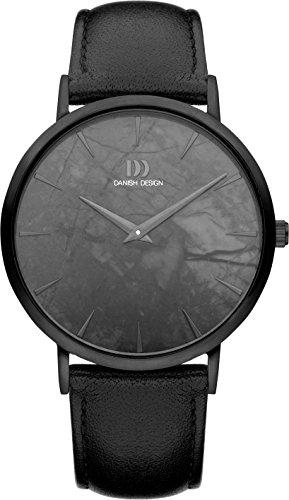 Danish Design IQ53Q1217 Herenhorloge met lederen armband