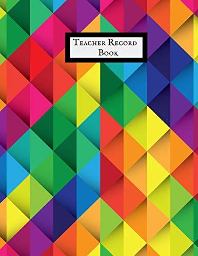 Teacher Record Book: Attendance Book for Teachers
