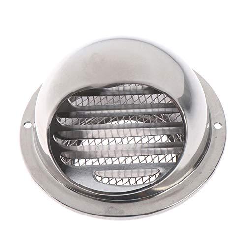 Shuxiang-rejilla de ventilación 70/80 / 100/120/150 mm, Wall salida de aire del Grille, conducciones de ventilación Extractor Outlet Louvres Hemisferio Accesorios de ventilacion ( Color : 100 mm )