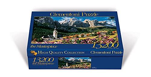 Clementoni 38007 Sellagruppe Dolomiten – Puzzle 13200 Teile, High Quality Collection, Geschicklichkeitsspiel für die ganze Familie, Erwachsenenpuzzle ab 14 Jahren
