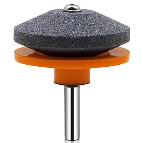 HshDUti Bohrmaschine Messerschärfer Rasenmäher Schleifmaschine Rasentrimmer Blatt Schärfwerkzeug Orange