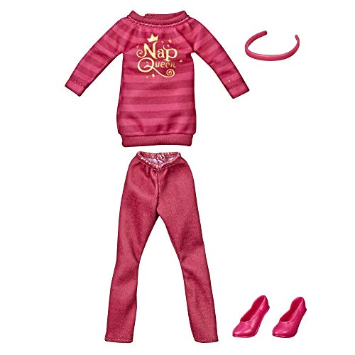 Disney Princess Comfy Squad Fashion Pack for Aurora Doll, Clothes for Disney Fashion Doll Inspired by Ralph Breaks The Internet Movie