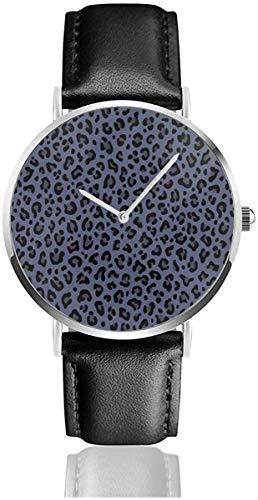 Brut Denim Leopard Leopard Print in Dark Indigo Blue Tiny Scale Collection...