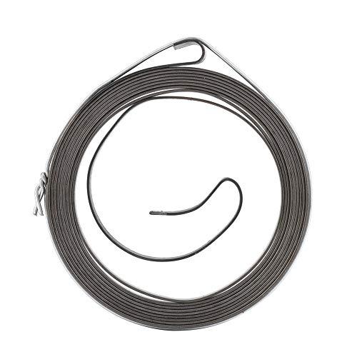 Haofy Empuñadura de Cuerda de Resorte de Cubo de polea de Arranque de Retroceso para Motosierra, Resorte de polea de Arranque de Retroceso de Motosierra