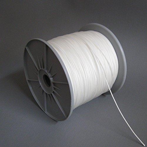 ps FASTFIX 10 Meter Zugschnur (weiß) für Jalousien mit 25 mm Lamellen - Jalousieschnur – ohne Rolle