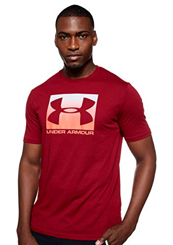 Under Armour Men's Boxed Sportstyle Short Sleeve T-Shirt , Cordova (615)/Beta , X-Large