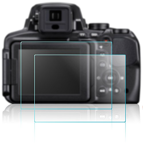 BROTECT AirGlass Glass Screen Protector for Nikon Coolpix AW130 Ultra-Light Extra-Hard Screen Guard