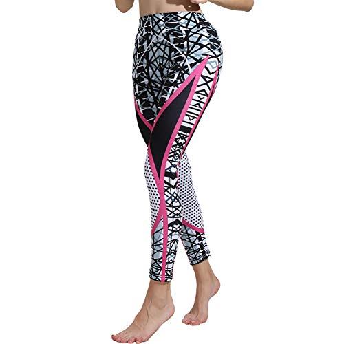 YUJIAKU Yoga broek/strak/Koop Sport Leggings Yoga Broek Polyester Elastische Taille Mode Womens Print Sport Gym Yoga Workout Fitness Sportbroek