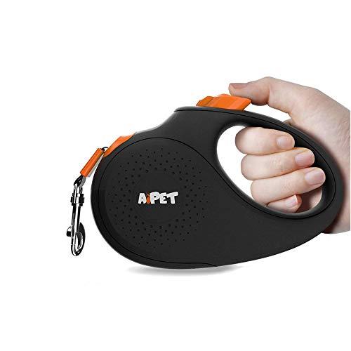 AIPET Retractable Dog Leash, 360° Tangle-Free Pet Leash, Anti-Slip Handle One-Handed...