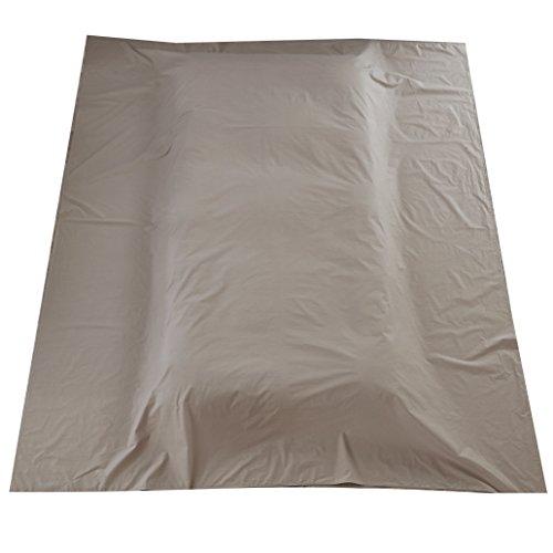 フラットシーツ シングル 綿100% 敷きシーツ ベッドシーツ 200本ブロード マットレスカバー アッパーシーツ 防ダニ 抗菌 無地 グレー