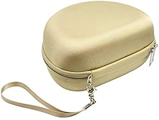 Gold Headphone Case for JBL Duet, E40BT, E50BT, Everest 300, Elite 300 NXTGen; Samsung Level On PRO; Skullcandy Crusher; OneOdio, Bluedio T5, Beats Studio 3; August EP650; ATH-M50x, M70X, M50xMG