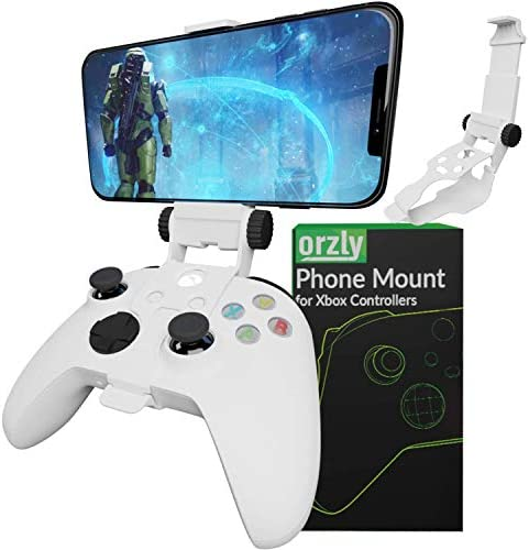 Xbox Series X Controller Mobile Gaming Clip Xbox Controller Phone Mount Adjustable Phone Holder product image
