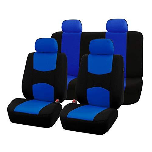 YYBLOVE YUYANGBIN Conjunto Completo Cubiertas de Asiento de automvil Fit Universal para Protectores de Asiento de automvil Accesorios Interiores de automviles Ajuste Beige para Lada Largus