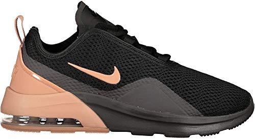 Nike Damen WMNS Air Max Motion 2 Leichtathletikschuhe, Mehrfarbig (Black/Rose Gold/Thunder Grey 001), 40.5 EU