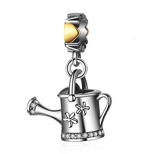 EvesCity Bolenvi - Abalorio de plata de ley 925 para el día de la madre